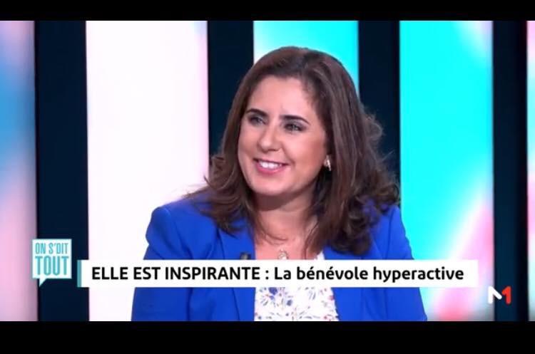 Naoual Bakry sur la télé